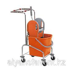Одноведёрная тележка для уборки ECO-PRO 1*25 л. Турция
