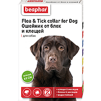 FLC Dog (Diaz Dog) Ошейник от блох и клещей для собак зеленый, 65 см