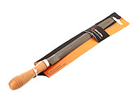 Напильник 200 мм полукруглый деревянная рукоятка Вихрь