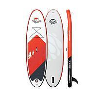 Надувная доска для водных видов спорта SUP Board Naturehike NH19J001-B red-9.6 feet