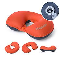 Надувная подушка Naturehike TPU Neck Pillow New Nozzle with Button Style NH17T013-U (571890=Orange)
