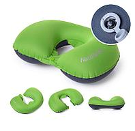 Надувная подушка Naturehike TPU Neck Pillow New Nozzle with Button Style NH17T013-U (571892=Green)