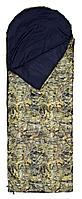 Спальный мешок-одеяло Следопыт Defender (PF-SB-04=right, 200+35х80, оксфорд-дюспо, 200г/м2, +20/+5, цв.сага)