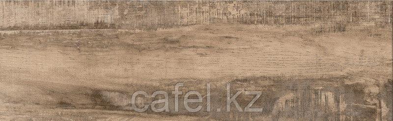 Керамогранит под дерево 18,5х60 Берген | Bergen коричневый