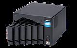 """QNAP TVS-672N-i3-4G Сетевой RAID-накопитель, 6 отсеков 3,5""""/2,5"""", 2 слота M.2, HDMI-порт, 1 порт 5 GbE BASE-T., фото 2"""