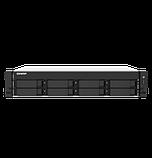 """QNAP TS-873AU-RP-4G Сетевой RAID-накопитель, 8 отсеков 3,5""""/2,5"""", 2 порта 2,5 GbE BASE-T, стоечное исполнение, фото 2"""