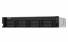 "QNAP TS-873AU-RP-4G Сетевой RAID-накопитель, 8 отсеков 3,5""/2,5"", 2 порта 2,5 GbE BASE-T, стоечное исполнение"