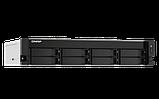 """QNAP TS-873AU-RP-4G Сетевой RAID-накопитель, 8 отсеков 3,5""""/2,5"""", 2 порта 2,5 GbE BASE-T, стоечное исполнение, фото 4"""