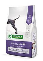 457509 Nature s Protection Adult Lamb,корм для взрослых собак всех пород с ягнёнком, уп.12 кг.
