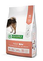 457394 Nature s Protection Medium Adult, корм для взрослых собак средних пород с курицей, уп.4 кг.