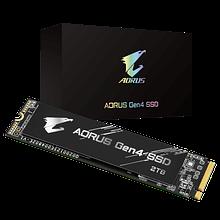 Gigabyte GP-AG42TB SSD-накопитель 2Tb, read up to 5000Mb/s, write up to 4400Mb/s, M2 2280, BOX