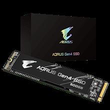 Gigabyte GP-AG4500G SSD-накопитель  500Gb, read up to 5000Mb/s, write up to 2500Mb/s, M2 2280, BOX