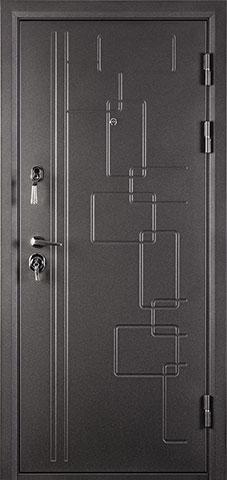 Металлическая дверь БАЯРД 2066-880 R/L
