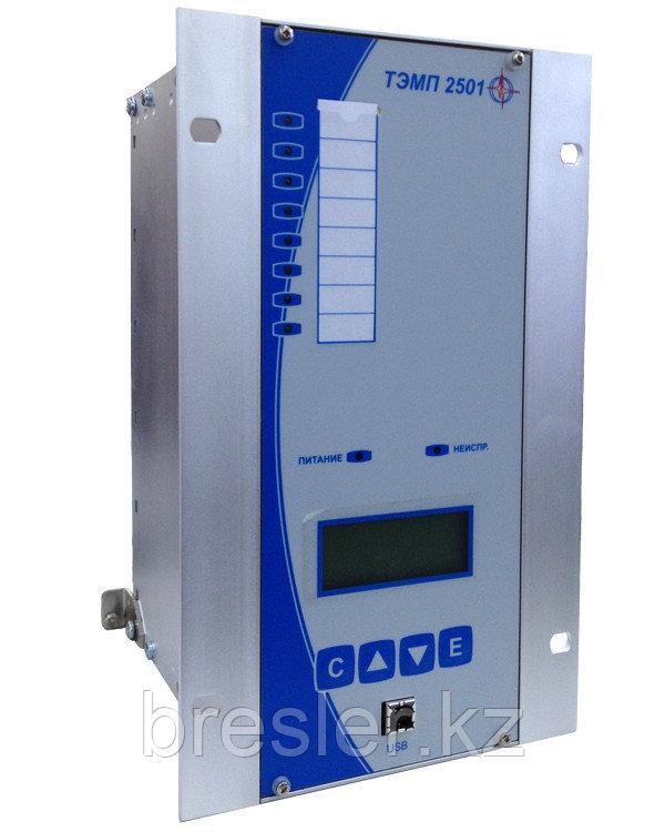 Комплектное устройство направленных токовых защит и автоматики присоединений 6-35 кВ «ТЭМП 2501-5»