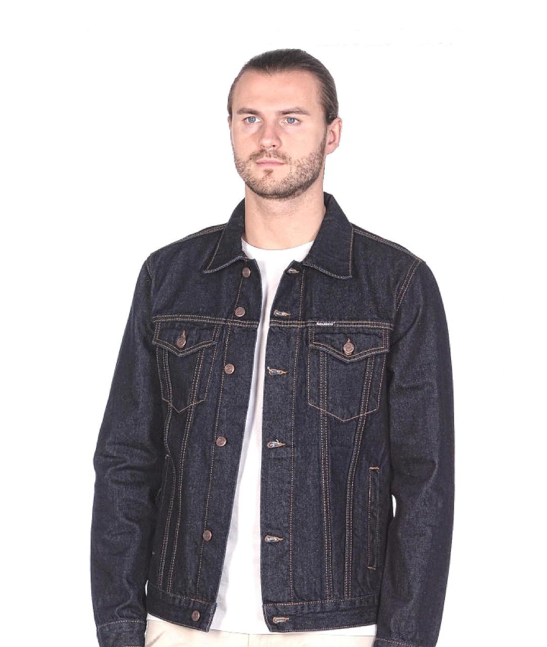 """Джинсовая мужская куртка """"Koutons"""" (размеры 3XL/54) - фото 2"""