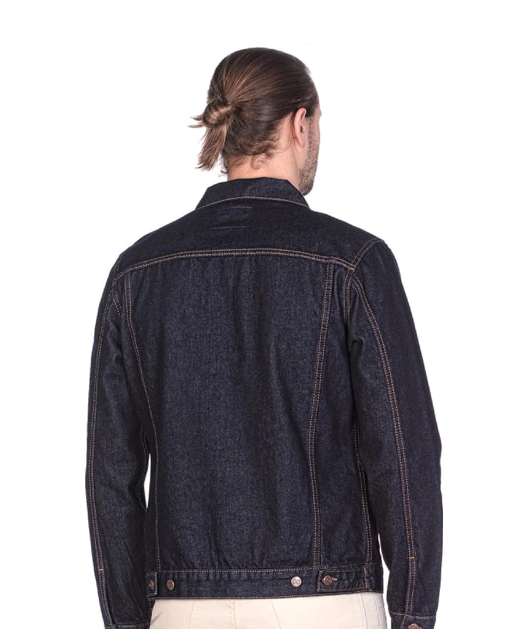 """Джинсовая мужская куртка """"Koutons"""" (размеры 3XL/54) - фото 3"""