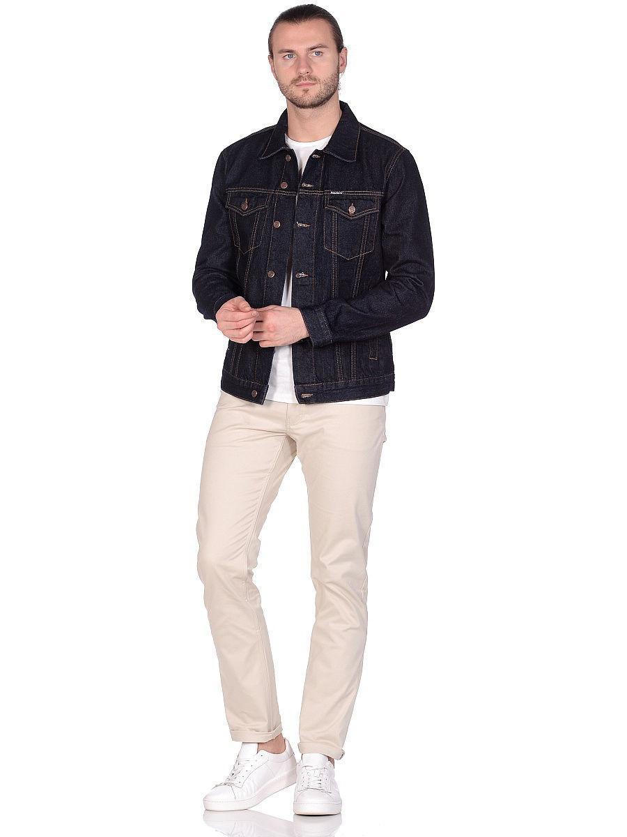 Джинсовая мужская куртка Koutons 1026 Petro 01 rinz - фото 1