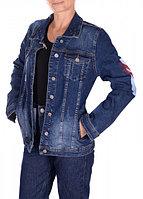 """Джинсовая женская куртка """"Woox"""" (размер S/44)"""