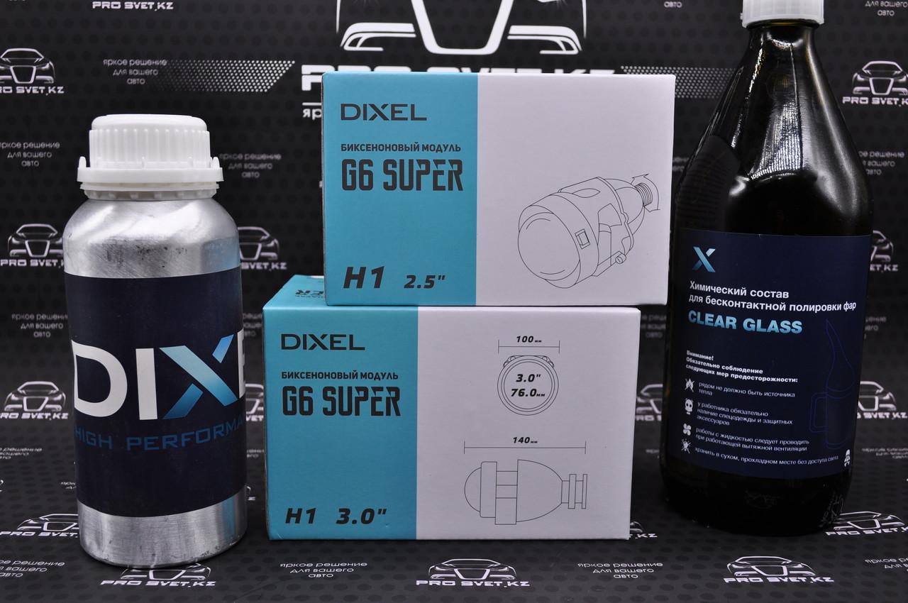 Биксеноновые линзы DXL MORIMOTO mini h1 g6 2.5 дюйма - фото 3