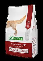 457523 Nature s Protection Adult Extra Salmon, корм для взрослых собак всех пород с лососем, уп.12 кг.