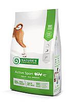 457448 Nature s Protection Active Sport, корм для взрослых активных собак всех пород, уп.12 кг.