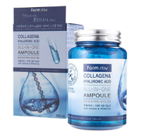 Сыворотка с гиалуроновой кислотой и коллагеном FarmStay All In One Collagen and Hyaluronic Ampoule