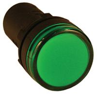 Индикатор AD-22DS (LED) Ø22мм (зеленый) IEK (10/600)
