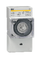 Таймер ТЭМ 181 аналоговый 16А 230В на DIN-рейку IEK (100)