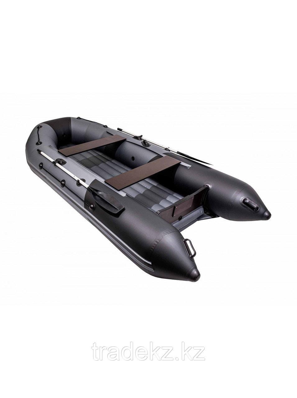 Лодка ПВХ Таймень NX 3600 НДНД PRO графит/черный
