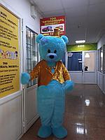 Ростовая кукла Синий плюшевый медведь