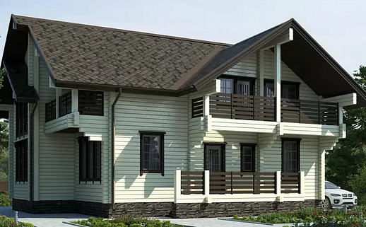 Проект дома №232