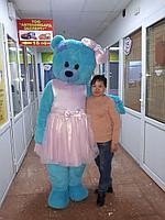 Ростовая кукла Синий Медведь