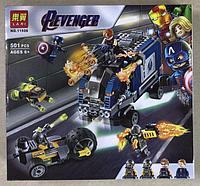 Конструктор Lari 11506 Нападение на грузовик Мстители Revenger