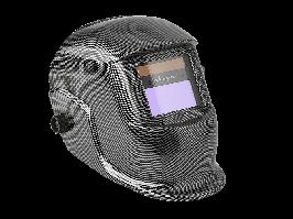 """Щиток сварщика защитный лицевой (маска сварщика) """"Хамелеон"""" SV-III внеш. рег. (карбон)"""