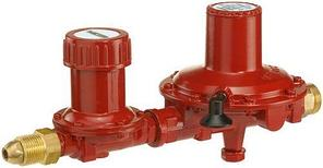 Двухступенчатый регулятор давления газа GOK 12 кг/час, 16 бар – 37, 50 мБар (с ПСК)