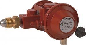 Двухступенчатый регулятор давления газа GOK 6 кг/час, 16 бар – 37, 50 мБар (с ПСК)