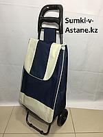 Продуктовая сумка-тележка на 2-х колесах.Высота 97 см, ширина 34 см, глубина 24 см., фото 1