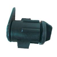 Заглушка, муфта, соединитель, фитинг, ремонтник для капельной ленты, диаметр 16 мм