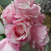 Искусственный букет роз (9 цветков)