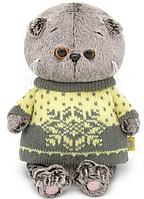 Басик BABY в желтом свитере, фото 1