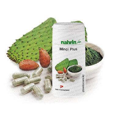 Капсулы Минки Плюс жиросжигатель для похудения Нарин Nahrin (Оригинал-Швейцария)