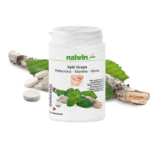 Ксилит Драже от кариеса, идеальные зубы Нарин Nahrin (Оригинал-Швейцария)