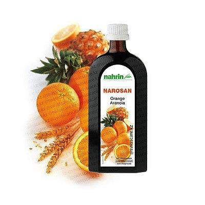 Сироп Все витамины плюс кальций и магний Нарин Наросан Апельсин Nahrin Narosan (Оригинал-Швейцария)