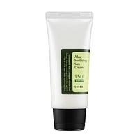 Солнцезащитный крем с соком алоэ COSRX Aloe Soothing Sun Cream SPF50 PA+++, 50мл.
