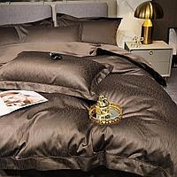 Комплект постельного белья двуспальный Vip Cotton с мелкими сатиновыми волнами
