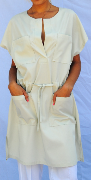 медицинский костюм женский белый цена