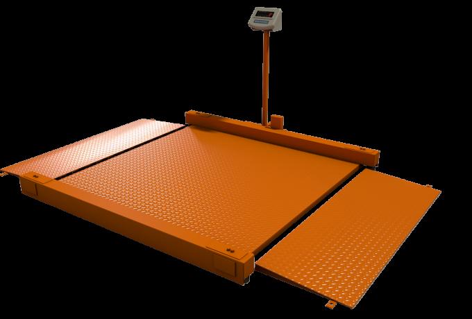 Весы платформенные электронные Уралвес МВСК С-Н (НП)-0,5 (1,0х1,5) низкопрофильные