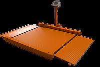 Весы платформенные электронные Уралвес МВСК С-Н (НП)-1.5 (1,5х1,5) низкопрофильные, фото 1