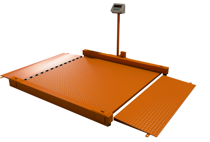 Весы платформенные электронные Уралвес МВСК С-Н (НП)-5 (2,0х1,5) низкопрофильные
