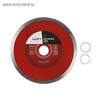 Диск алмазный отрезной LOM, сплошной, мокрый рез, 150 х 22 мм